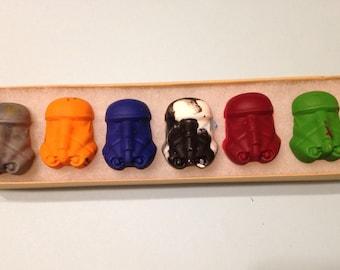 Storm Trooper Crayons