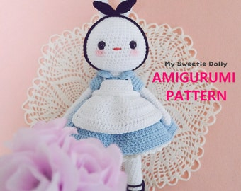 Cotton Candy Bunny in Wonderland // AMIGURUMI PDF PATTERN