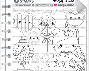 Unicorn Stamp, 80%OFF, COMMERCIAL USE, Digi Stamp, Digital Image, Unicorn Digistamp, Unicorn Coloring Page, Unicorn Graphic, Printable