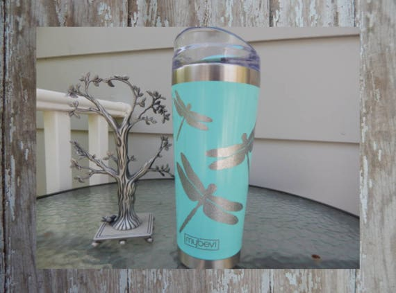 Decal For Yeti Cup Glitter Dragonfly Yeti Decal Glitter
