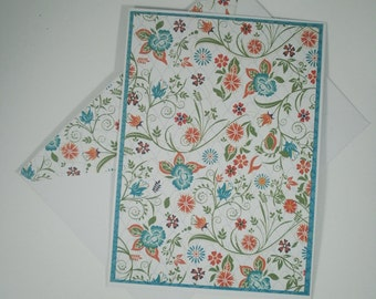 Note Card Set, Note Cards, Blank Cards, Stationery Set, Floral Note Cards, Blank Note Cards, Floral Cards, Cards for Her