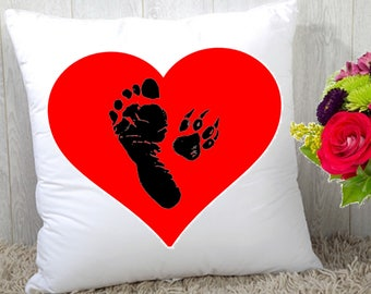 A Bonded Pair Statement Pillow