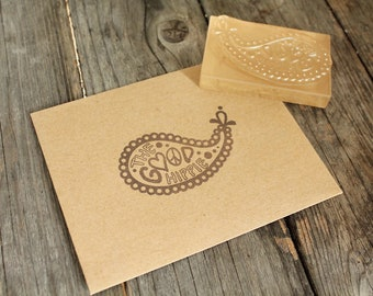 Custom Logo Stamp -2 x 1 inches + Design Work