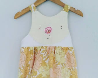Size 3 - Vintage Embroidered Dress