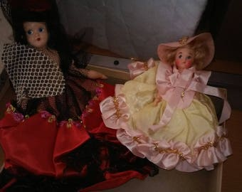 Vintage 1940's Fairyland Dolls