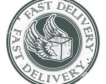 Fast delivery Upgrade 4-6 days with tracking number