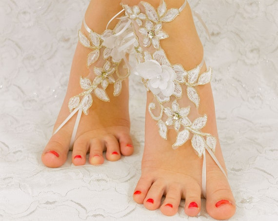 Wedding Shoes for Bride, Coupon Code Free Shipping, Anklet Sandals, Lace Sandals, Bridal Sandals, Bridesmaid sandals, Beach Wedding Shoes