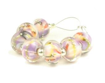 Phyllida  -  Handmade Lampwork Glass Beads