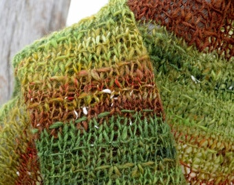 Knit Your Own Mending Stitch Shawl - .PDF pattern for Mending Stitch, Pattern Only, Shawl Knitting patterns for handknitters