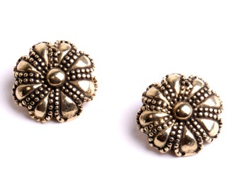 Earring clip jewel fashion handmade by ByDesign France 100% made in France.