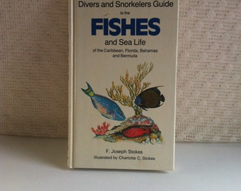 Divers and Snorkelers Guide to the FISHES and Sea Life of the Caribbean Florida Bahamas Bermuda F Joseph Stokes & Charlotte C Stokes 1984