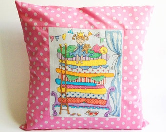 Princess and the Pea Fairytale / PDF Cross Stitch Pattern