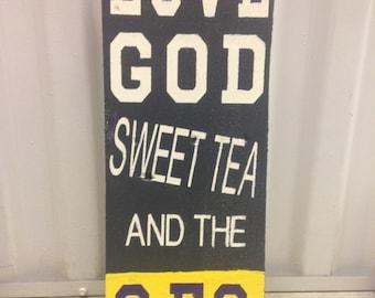 Love God, Sweet Tea and the SEC