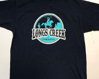 Navy Longs Creek Cowboys Shirt