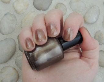 Gunmetal Gort Polish - Day The Earth Stood Still Inspired Nail Polish