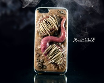 Twins Monster Case for iPhone 6/6s Plus - horror art creepy weird phone accessories accessory protective teeth strange oddity oddities ooak