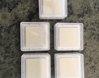 Uninked Foam Stamp Pads, Dry Stamp Cubes