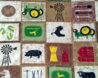 Farming Baby Blanket