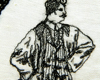 Eccentric Embroidery - The Physician