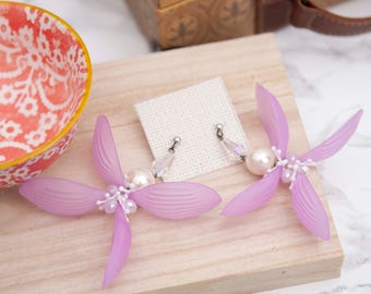 Dangle and Drop Earring, statement earring Spring Collection