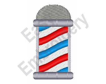 Barber Pole - Machine Embroidery Design