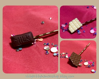 Chocolate bar collection (bobby pin style)