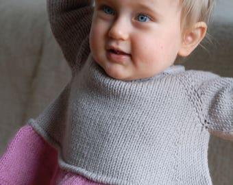 Tutu Top PDF knitting pattern / Fiche tricot haut a volant