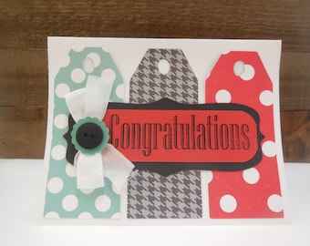 SALE, SALE, Congratulation Card kit, Premade Congratulations Cards, Handmade Card Kit, Handmade Congratulations Card,