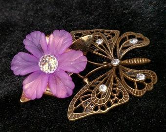 Fluttering Butterfly Hair Jewelry