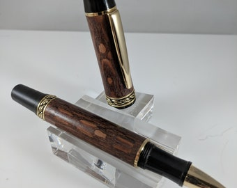 Olympian Elite Rollerball Pen with gold accents