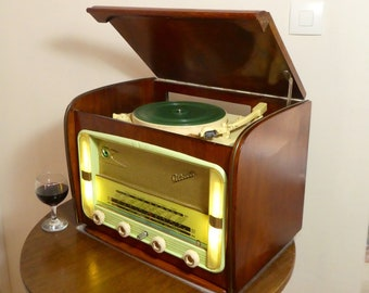Vintage Record Player w/Bluetooth Océanic model Albatros! 100watts!