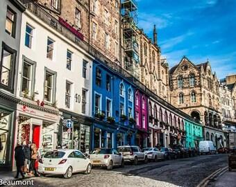 Edinburgh - West Bow or Victoria Street