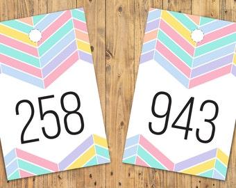 DIGITAL DOWNLOAD Forward & Backward Live Sale Numbers 001 - 999