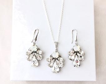 Opal bridal jewelry Etsy