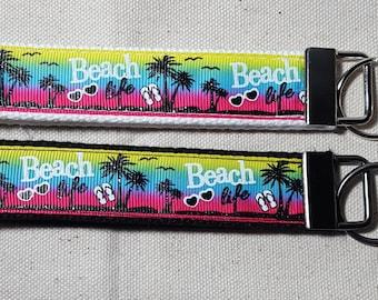 Beach Key Chain