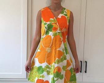 Vintage Hawaiian Sundress/ Vintage Liberty House/ 60s Sundress