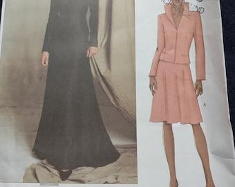 Vogue Paris Original Jacket Skirt Pattern Guy Laroche 2607