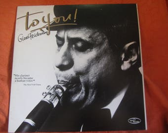 Giora Feidman TO YOU! Clarinet Klezmer 1996 Vinyl Record LP
