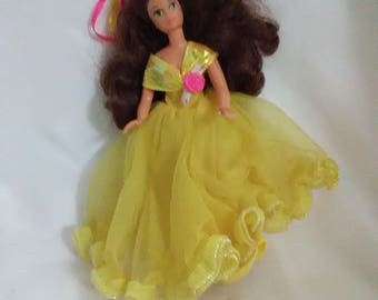 """Vintage 6.5"""" Belle from Beauty and the Beast"""