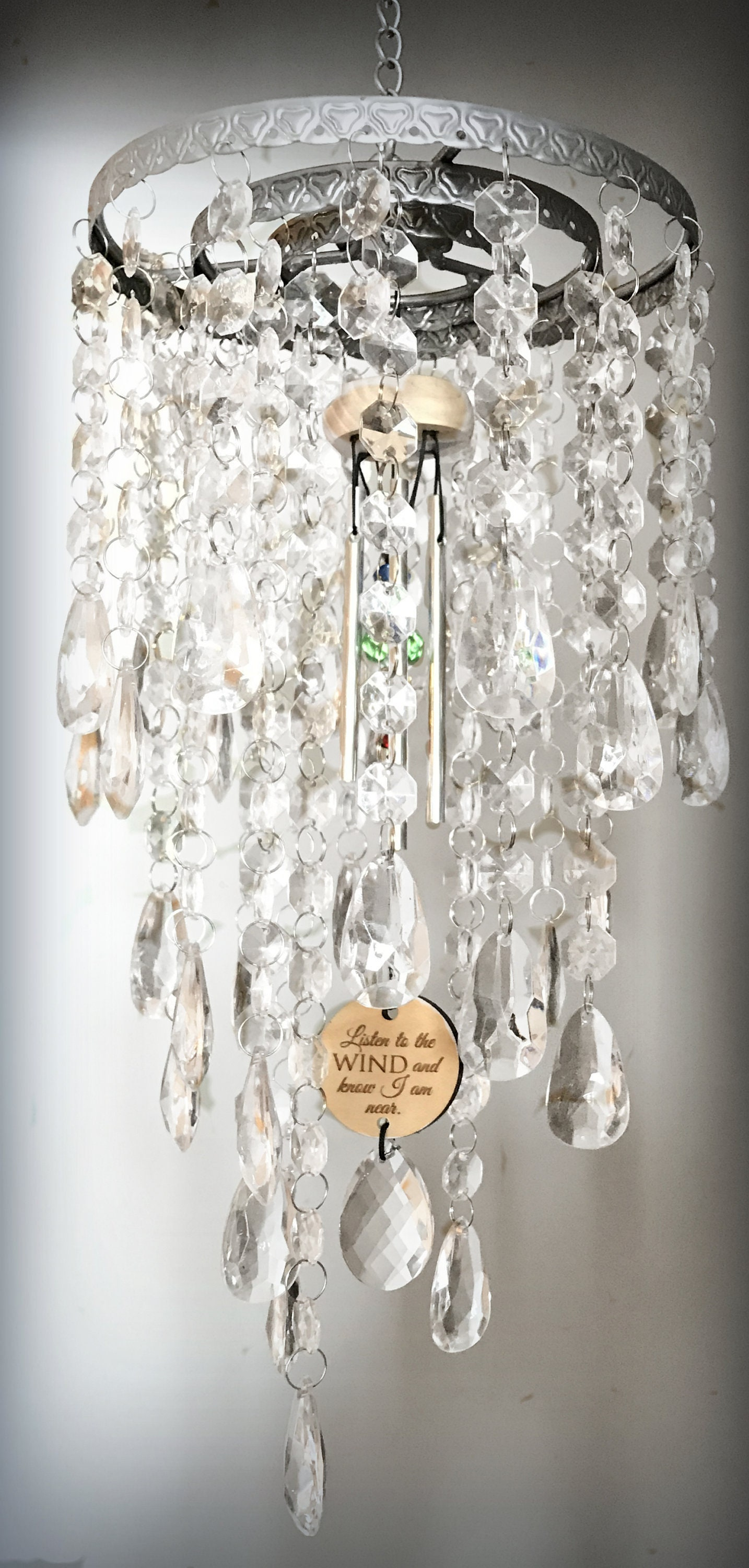 Mothers datmorial chandelier wind chime sun catcher gift zoom arubaitofo Image collections