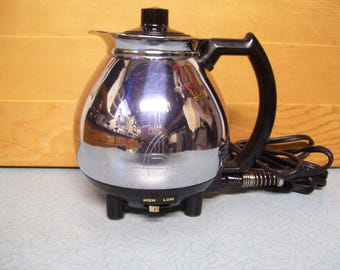 Vintage Sunbeam Coffee Master Bottom only hot pot