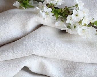 SP70 antique handloomed laundered 7.21 yards french 리넨 24.80inches wide upholstering curtain projects wedding PALE NATURAL , vintage,