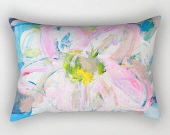 Lumbar Pillow, Rectangular Throw Pillows, Floral Pillows - Enjoy FREE Shipping