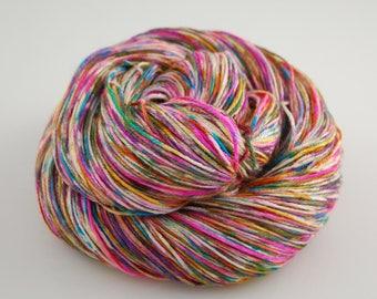 Shiny Happy- Graffiti  - 435 yards 100 grams  50/50 superwash merino and silk