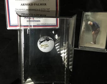 Arnold Palmer, Masters Champ autographed golf ball 1962 - Rare