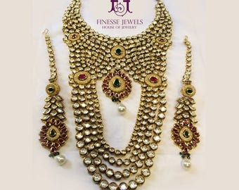 Polki Jewelry, Indian Jewelry, Kundan Jewelry, Haar, Indian Earrings, Indian Necklace Set, Custom Jewelry, Polki, Kundan,Kareena Kapoor