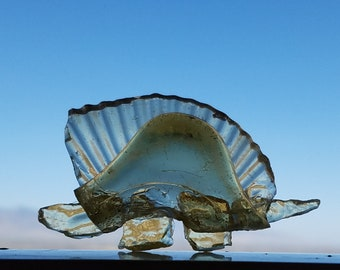 Glass Stegosaurus light-catcher