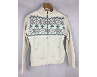 RENTORES Knitwear Jackets Medium Size Long Sleeve Fully Zipper Nice Design