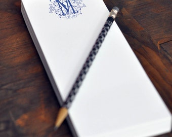 Personalized Skinny Note Pad