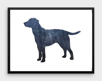 Labrador Retriever Print | Printable Art, Dog Print, Labrador Poster, Labrador Art, Watercolor Art, Animal Print, Nursery Art